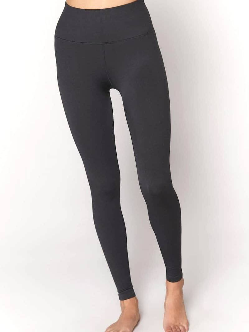 Spiritual Gangster Love Sculpt Seamless Legging Black