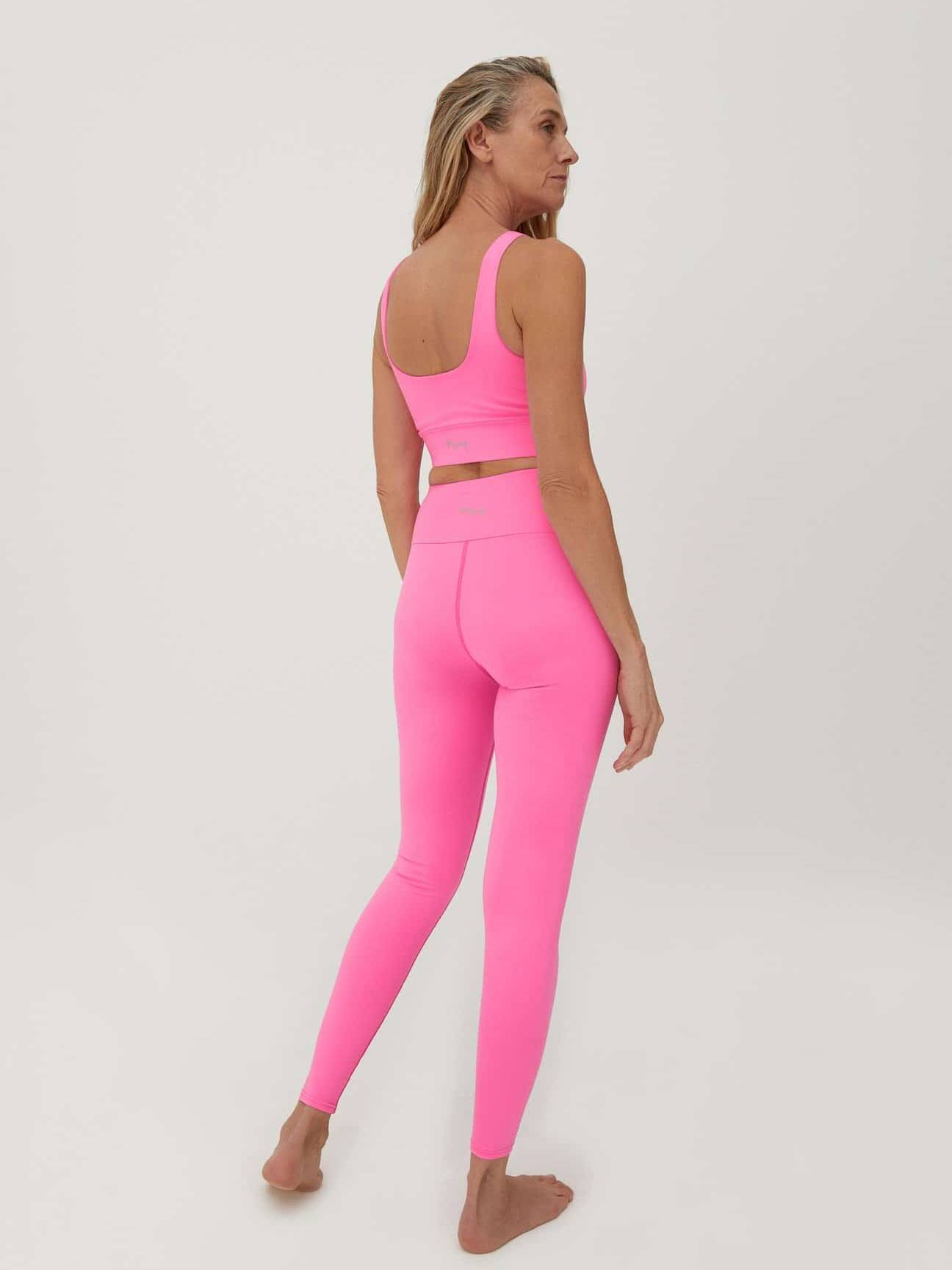 Hey Honey Leggings Neon Pink