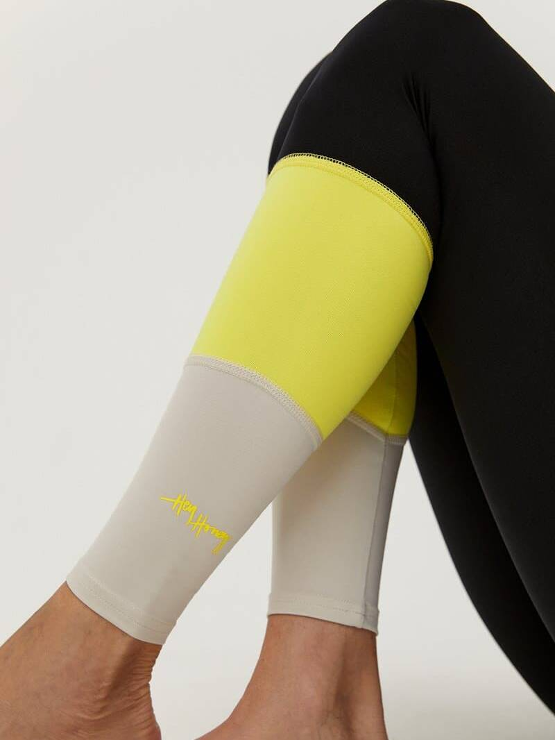 Hey Honey Leggings Elevation Neon Yellow