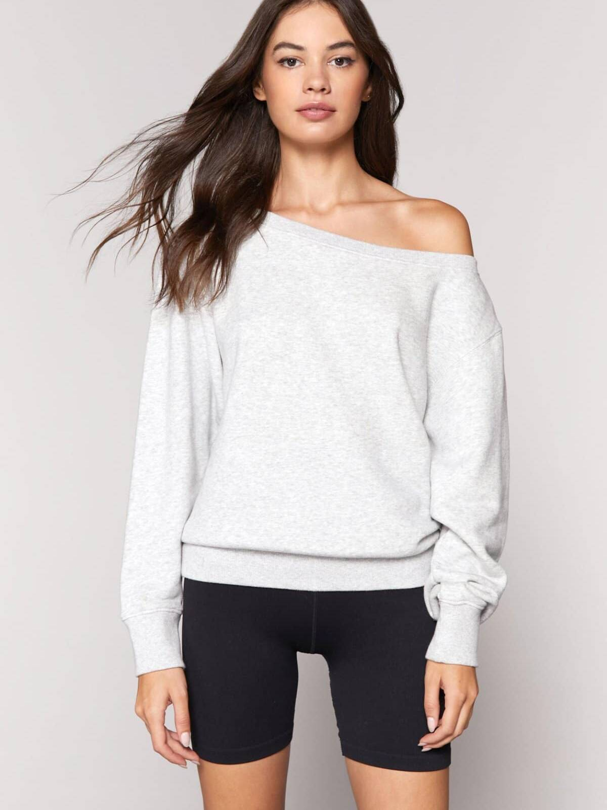 Spiritual Gangster Vida Off Shoulder Sweater