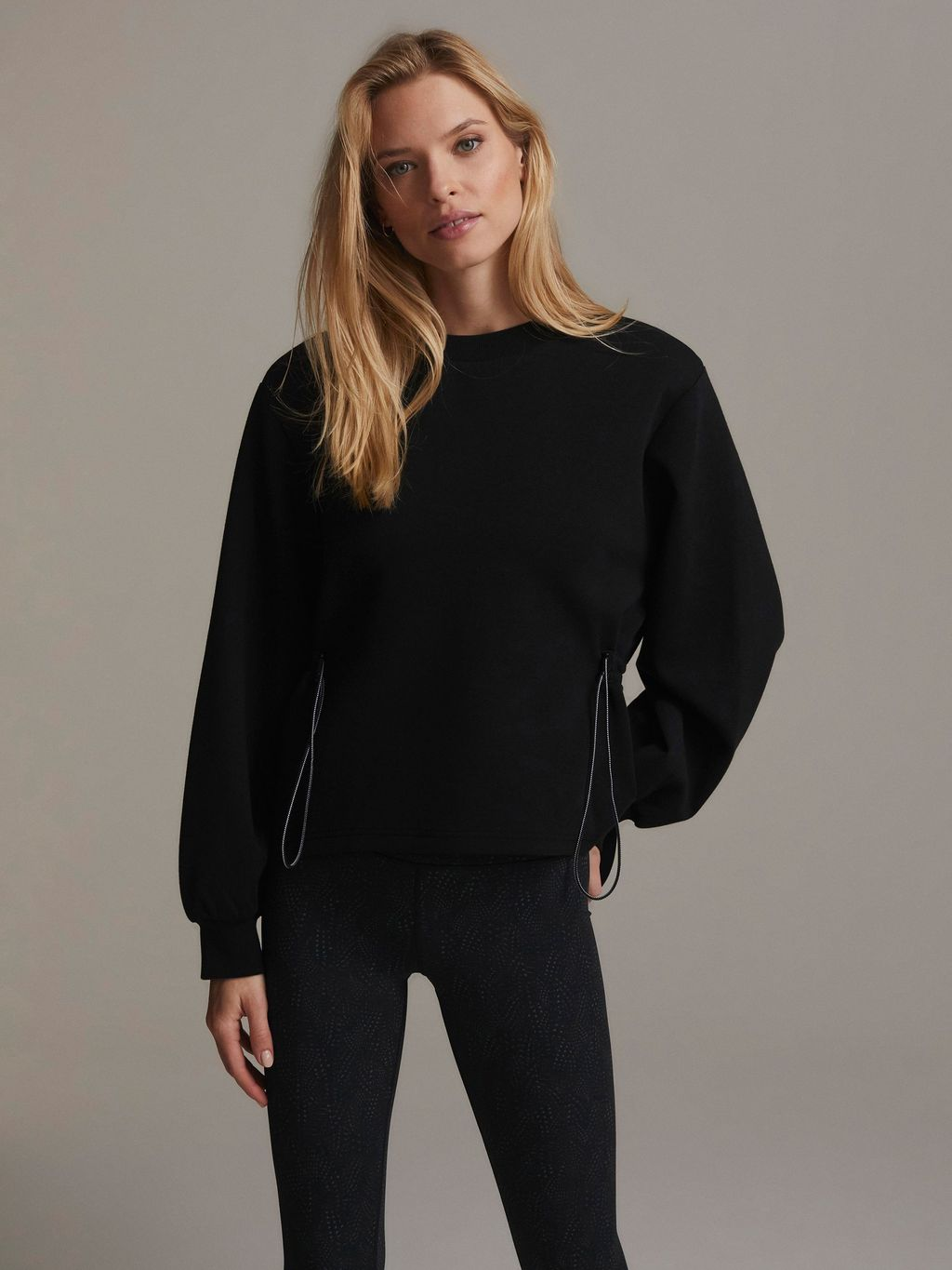 Varley Sweater, Bella Sweat Black, Basic Sweater, Basic Pulli, Schwarzer Sweater, Bella Sweater, oversized Sweater