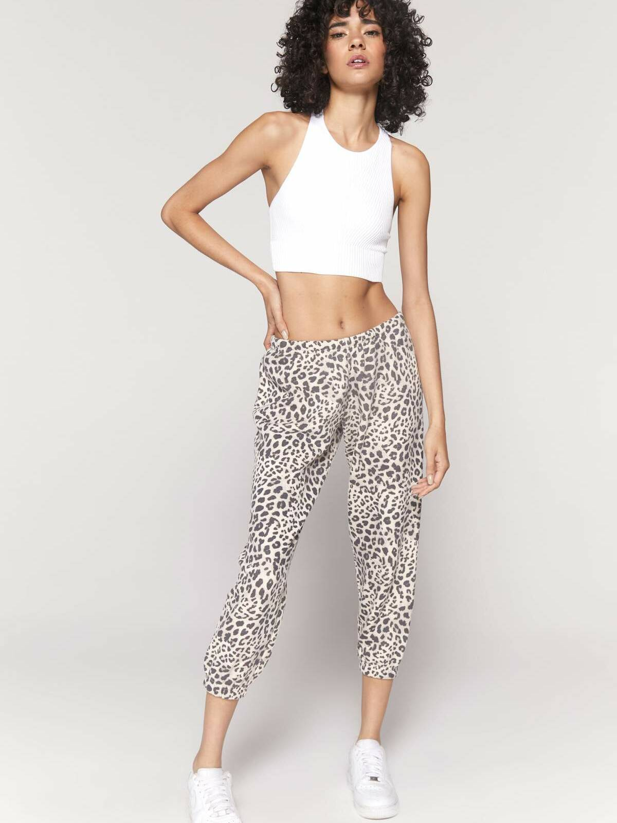 Spiritual Gangster Leopard Perfect Terry Sweatpant